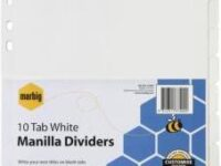 marbig-37300-white-folder-divider