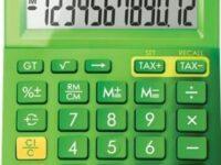 canon-ls123kmgr-metallic-green-calculator