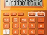 canon-ls123kmor-calculator-orange