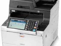 Oki MC573DN printer