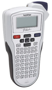Brother-P-Touch-PT-1010-SILVER-Electronic-Labelling-Machine-labelling-tapes