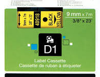 dymo-s0720730-black-print-on-yellow-labelling-tape