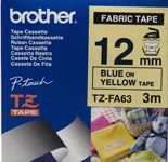 brother-tzefa63-blue--on-yellow-fabric-iron-on-labelling-tape