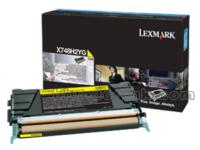 lexmark-x748h2yg-yellow-toner-cartridge