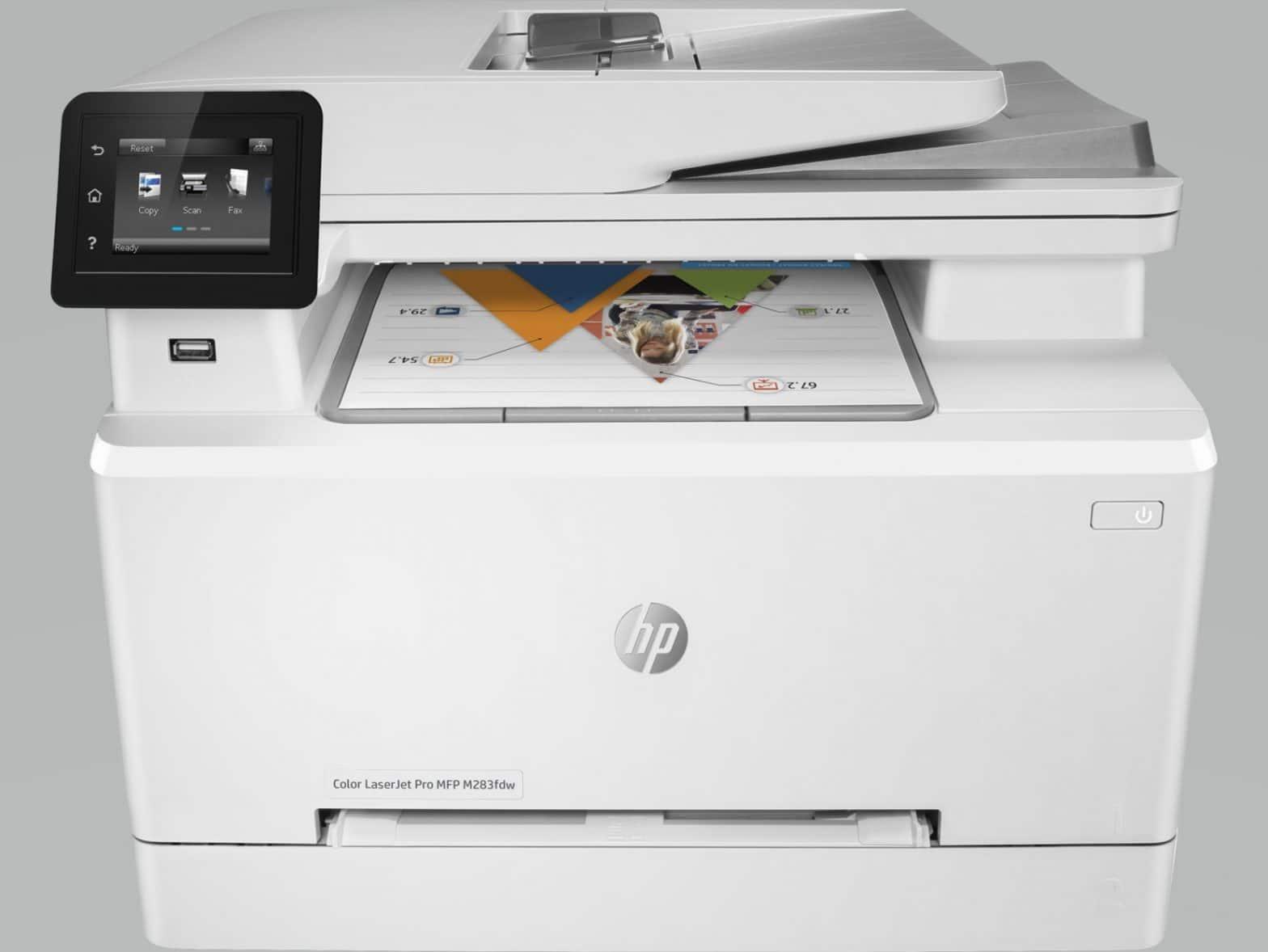HP LaserJet M283FDW
